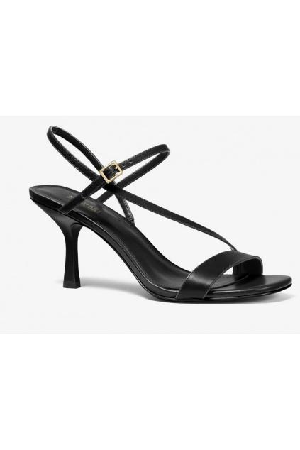 40S0TAMS1L Dámské kožené sandály Michael Kors Tasha černé