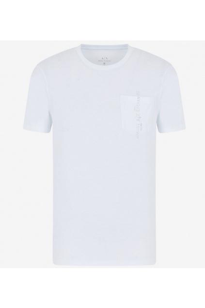 3HZTAC ZJA5Z Pánské tričko Armani Exchange bílé