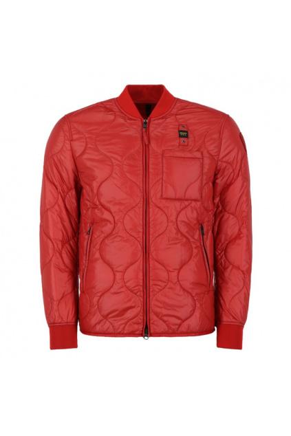 20SBLUC02049 Pánská jarní bunda Blauer péřová červená