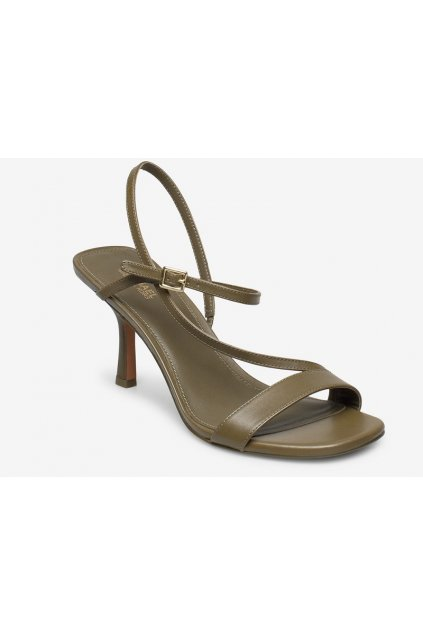 40S0TAMS1L Dámské kožené sandály Michael Kors Tasha zelené