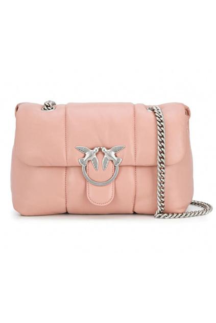 1P21PBY677 Dámská kabelka Pinko Love Bag Puff Quilting Cl růžová