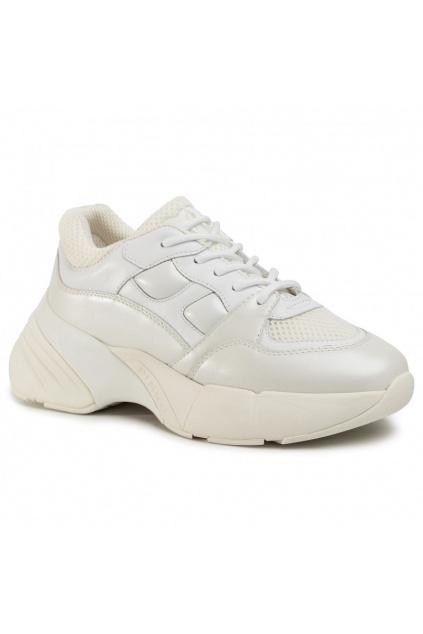 1H20PQ Y5ZM Dámské tenisky Pinko Rubino 2 bílé