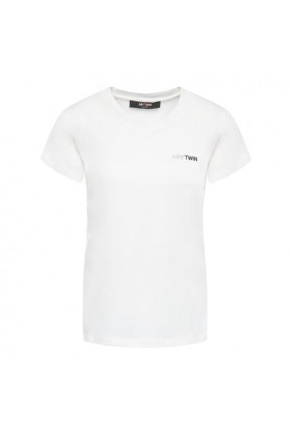 202MP2361 Dámské tričko Twinset bílé