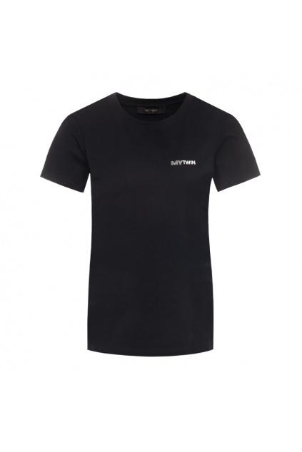 202MP2361 Dámské tričko Twinset černé