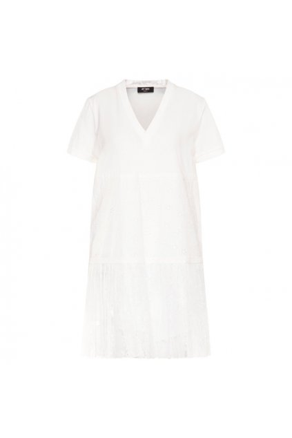201MT2052 Dámské šaty Twinset bílé