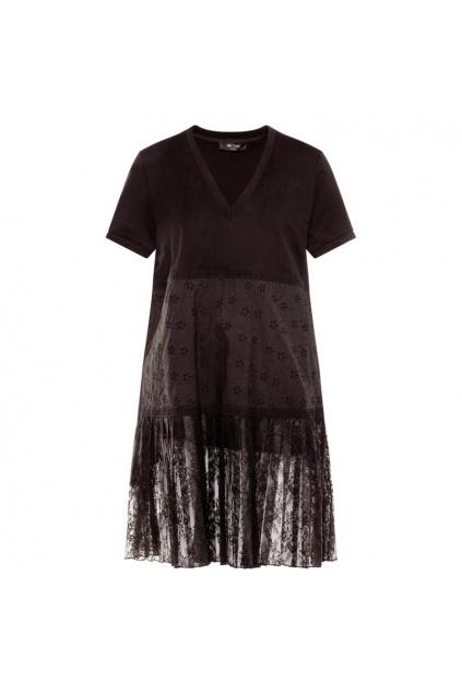 201MT2052 Dámské šaty Twinset černé