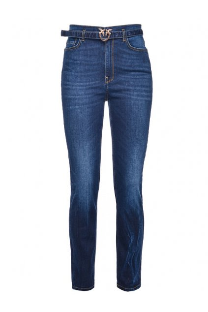 1J10G6 Y6FD Dámské džíny Pinko Susan 8 modré