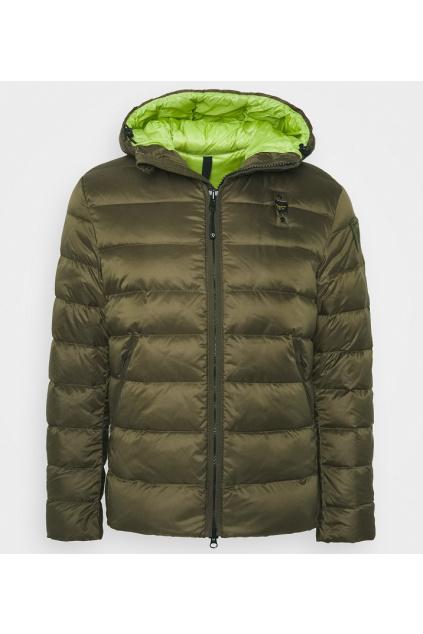 20WBLUC02155 Pánská péřová bunda Blauer khaki