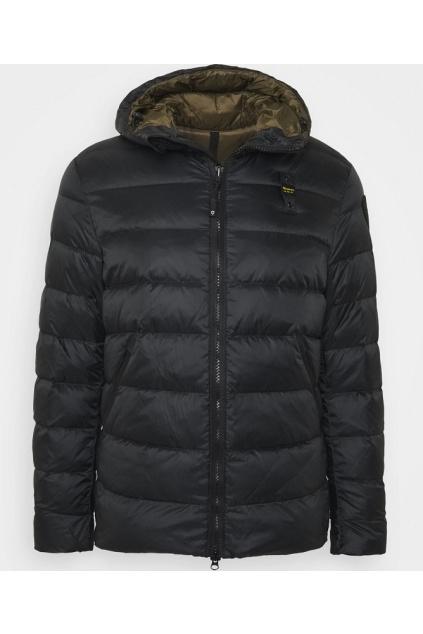 20WBLUC02155 Pánská péřová bunda Blauer černá