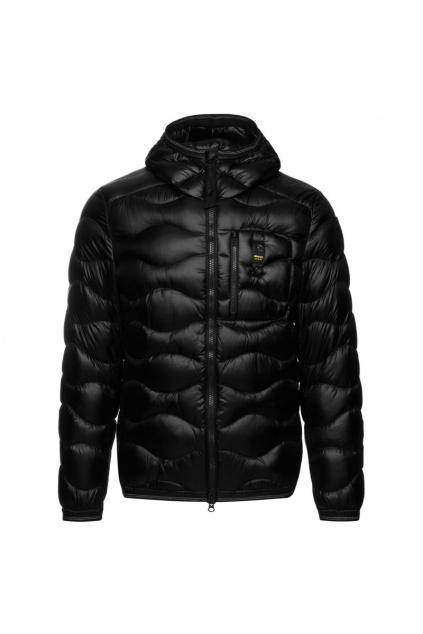 20WBLUC03099 004719 999 Pánská péřová bunda Blauer černá