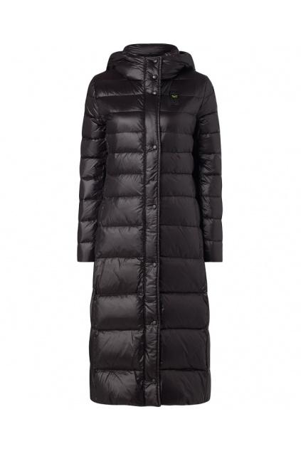 20WBLDK03399 Dámský péřový kabát Blauer černý