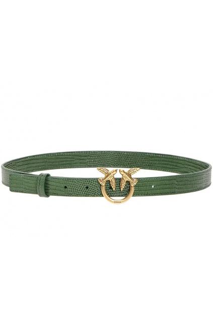 1H20S3 Y6EN Dámský pásek Pinko Berry Small 3 Belt zelený