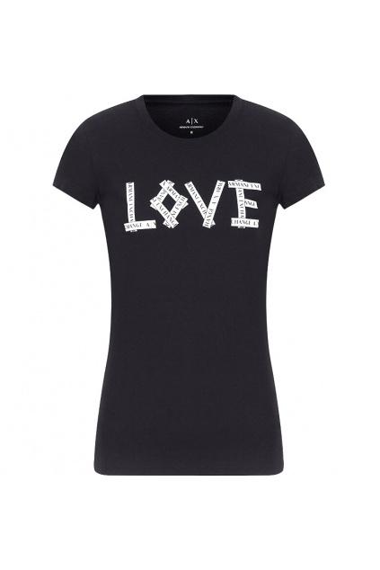 6HYTFX YJ16Z Dámské tričko Armani Exchange černé