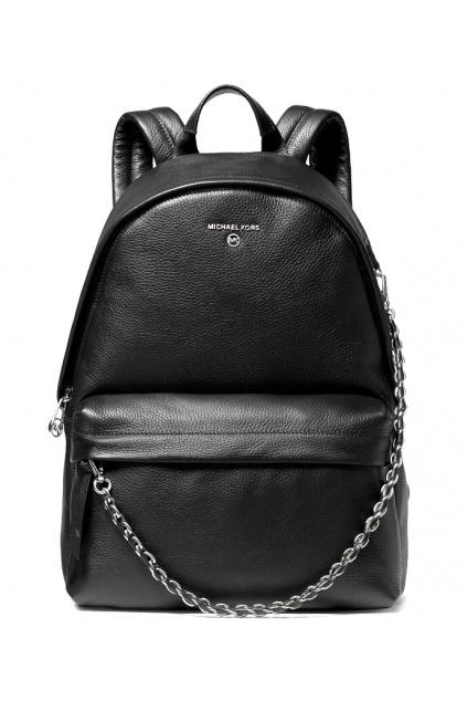 30T0S04B1L Dámský batoh Michael Kors Slater Medium Backpack Leather černý