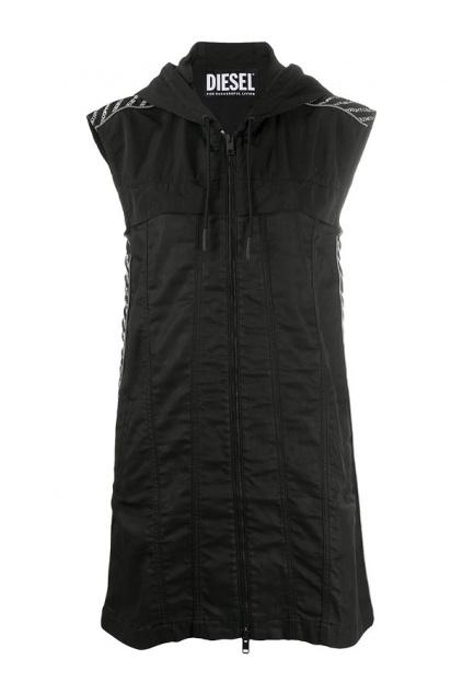 A00376 069PF 01 Dámské šaty Diesel D-Jana-Ne černé