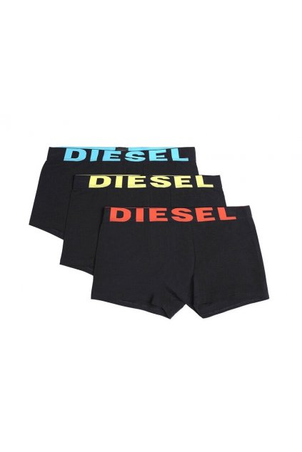 00CKY3 0BAOF 01 Diesel boxerky Umbx Damienthreepack černé