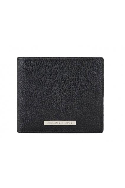 958098 CC206 00020 Pánská peněženka Armani Exchange černá