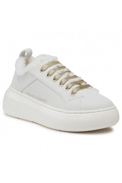 XDX045 XV33900894 Dámské tenisky Armani Exchange bílé