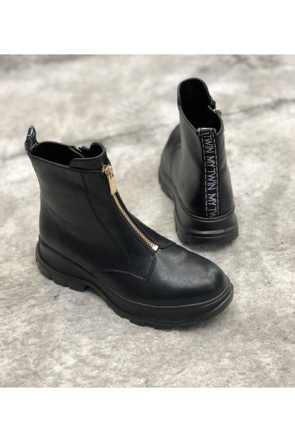 202MCP026 00006 Dámská obuv Twinset černá