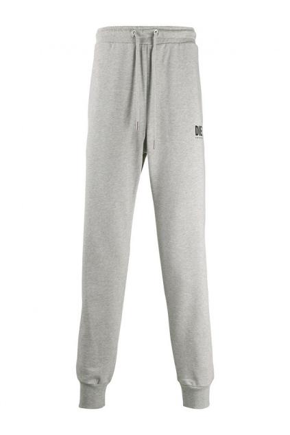 00SZLB 0BAWT 912 Pánské teplákové kalhoty Diesel P Tary Logo šedé