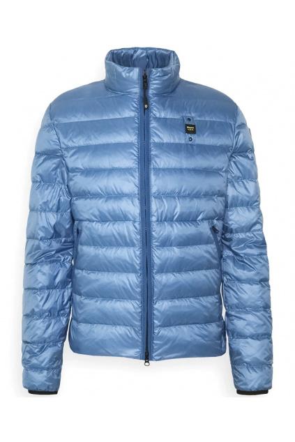 21SBLUC03018 801 Pánská péřová bunda Blauer modrá