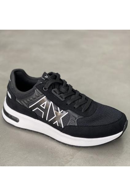 XUX090 XV276 Pánské tenisky Armani Exchange černé