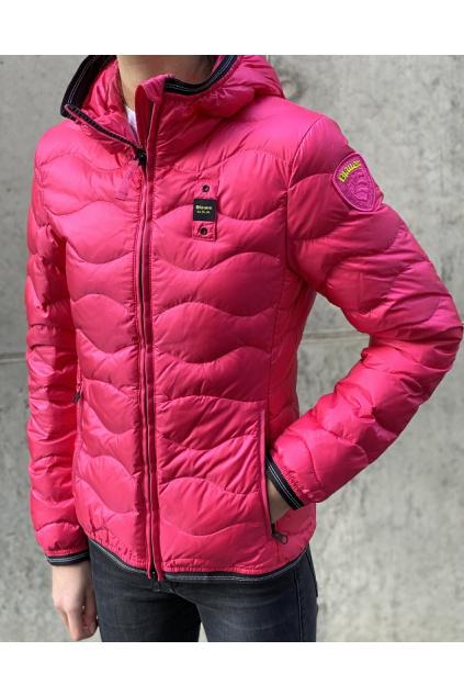 Dámská bunda Blauer 21SBLDC03027 růžová