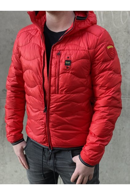 Pánská bunda Blauer 21SBLUC03029 červená