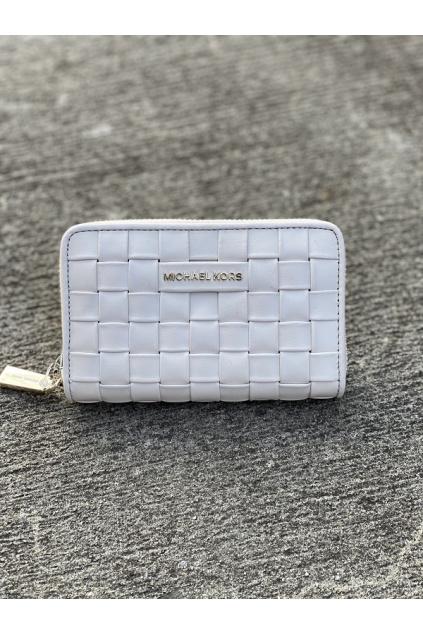 Dámská peněženka Michael Kors Jet Set Small Leather krémová