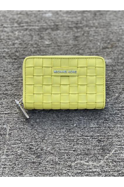 Dámská peněženka Michael Kors Jet Set Small Leather žlutá 1