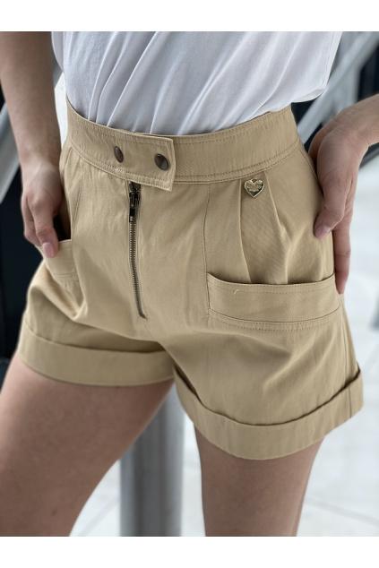 Dámské šortky Twinset 211TT2073 béžové