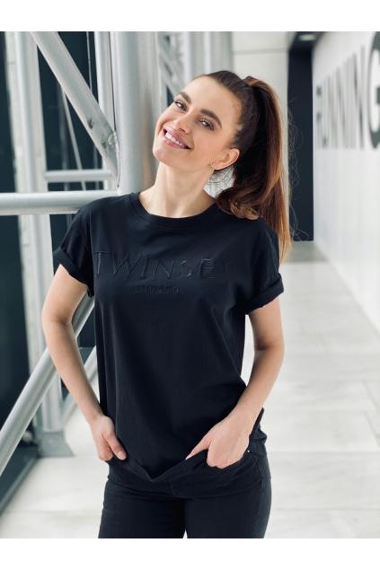 Dámské tričko Twinset 211TT2230 černé 0