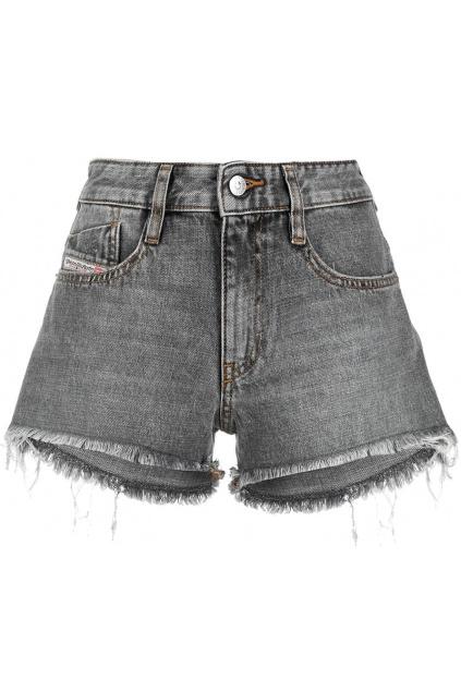 Dámské šortky Diesel DE Rifty Shorts šedé