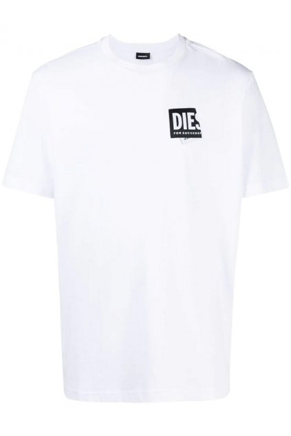 Pánské tričko Diesel T Just Lab bílé