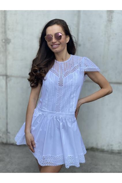 Dámské šaty Twinset 211TT2462 bílé