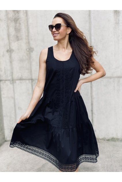 Dámské šaty Twinset 211TT2461 černé