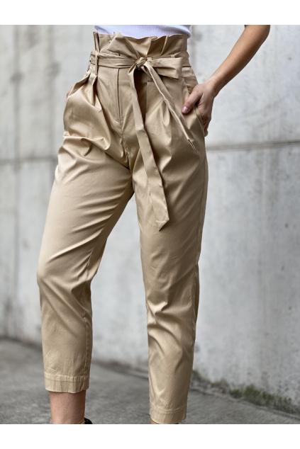 Dámské kalhoty Twinset 211MT2262 béžové
