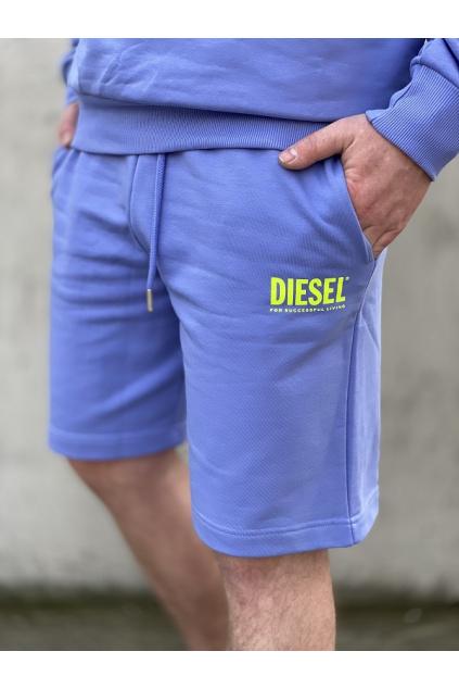 Pánské šortky Diesel P Crown Logo fialové