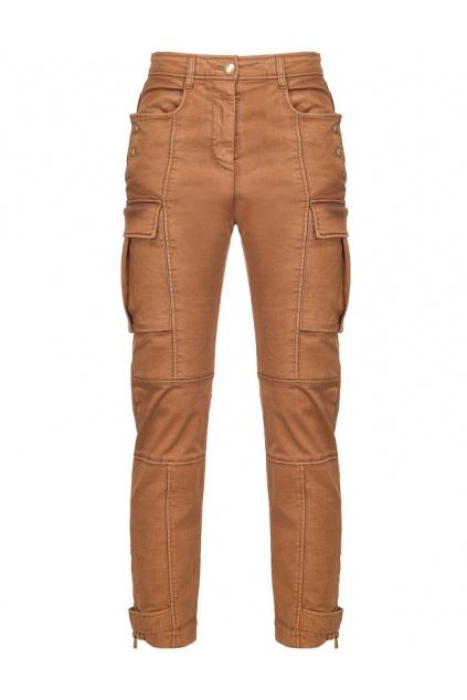 Dámské kalhoty Pinko Vorace hnědé