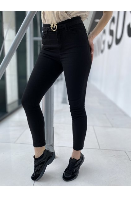 Dámské džíny Pinko Susan 13 Skinny PJ385C černé
