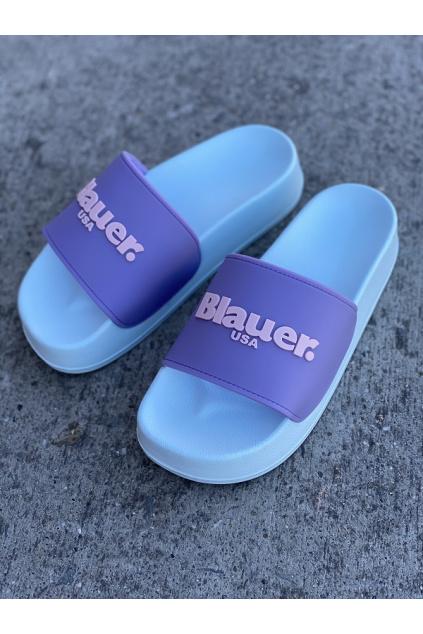 Dámské nazouváky Blauer S1YUBA01 fialové 2