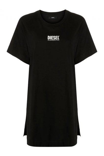 Dámské šaty Diesel D Bowi Smallogo černé