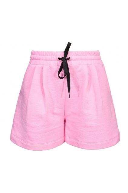Dámské šortky Pinko Agronomie růžové