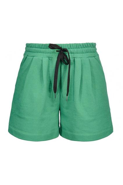 Dámské šortky Pinko Agronomie zelené