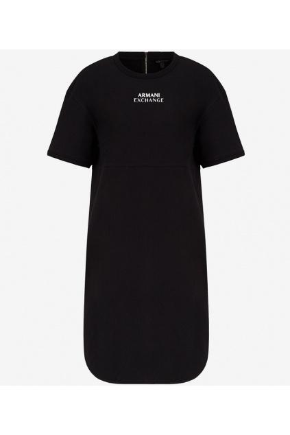Dámské šaty Armani Exchange 3KYA79 YJ7EZ černé