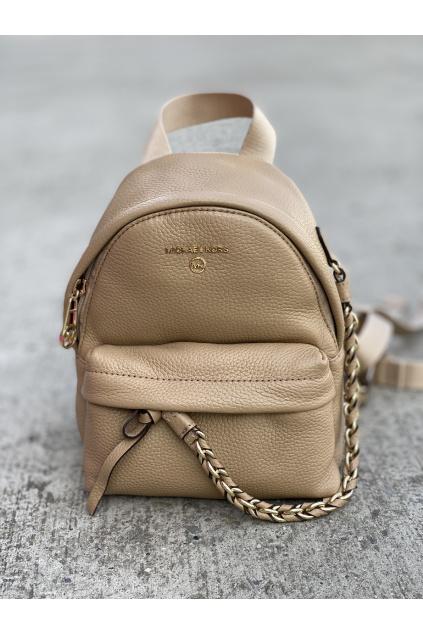 Dámský batoh Michael Kors Slater Small Leather 30T0L04B0L béžový