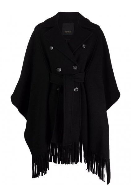 Dámský kabát Pinko Puerta černý