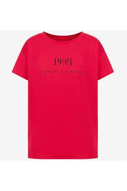 Dámské tričko Armani Exchange 6KYTEE YJ6QZ červené