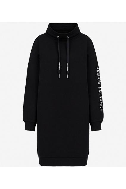 Dámské šaty Armani Exchange 6KYA78 YJ6PZ černé