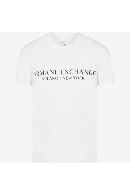 Pánské tričko Armani Exchange 8NZT72 Z8H4Z bílé